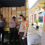 Di Suasana Lebaran, Polres Bintan Salurkan Bantuan Kemanusiaan Peduli Covid-19 Dari Yayasan Budha Tzu Ci Indonesia