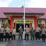 Kunjungan Kerja Dan Silaturrahmi DANREM 033/WP Di Polres Bintan