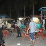 Tim Ops Aman Nusa II Cegah Covid-19 Seligi Laksanakan Patroli Dialogis, Beri Himbauan di Batu Aji dan Sekitarnya
