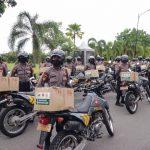 Bakti Sosial Peduli Covid-19, TNI-Polri Bersama Yayasan Budha Tzu Chi Berikan Bantuan Ribuan Paket Sembako
