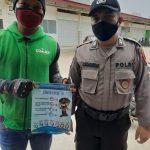 Ditbinmas Polda Kepri Kembali Himbau dan Bagikan Brosur Protokoler Kesehatan Waspada Covid-19