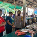 Sosialisasi Gugus Tugas Terkait Terhadap Pedagang Di Pasar Ikan Ranai Kec. Bunguran Timur Terkait Kebijakan Pemerintah Akan Menerapkan New Normal Di Tengah Pandemi Covid-19