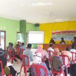 Polsek Singkep Barat Lakukan Pengamanan BIMTEK untuk PPK dan PPS Kecamatan Singkep Barat dan Kecamatan Kepulauan Posek