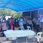 Kanit Binmas Polsek Lubuk Baja Mendampingi tim Operasi Bina Kesuma Seligi 2020 Polresta Barelang