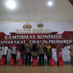 29 Tahun Pengabdian Alumni Akpol 1991 Batalyon Bhara Daksa Laksanakan Bakti Sosial di Kabupaten Bintan