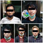 Ditresnarkoba Polda Kepri Berhasil Amankan 5 Pelaku Pemilik 1 Kg Narkotika Jenis Sabu