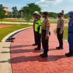 POLRES NATUNA LAKSANAKAN PENGAMANAN OBJEK WISATA DENGAN MEMPERHATIKAN PROTOKOL KESEHATAN