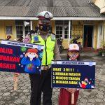 DALAM MASA ADAPTASI KEBIASAAN BARU, INILAH YANG DILAKUKAN POLISI SATUAN LALU LINTAS POLRES NATUNA