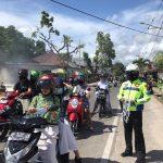 PEDULI COVID-19, TNI-POLRI DAN INSTANSI TERKAIT BAGIKAN 1000 MASKER SECARA SERENTAK PADA MASYARAKAT KAB. NATUNA
