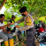 Basembang bercerita tentang sosialisasi Adaptasi Kebiasaan Baru (AKB)