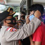 Tim Gabungan Polres Bintan, TNI dan Satpol PP Bintan Gelar Operasi Yustisi Pendisiplinan Protokol Kesehatan