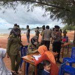 TNI-POLRI dan Satpol PP Laksanakan Operasi Yustisi Penegakan Perbub No 51 Ta 2020 Di Depan Pos Lantas 901 Ranai.