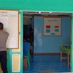 Polres Natuna dan Polsek Jajaran Pasang Banner dan Baliho Maklumat Kapolri