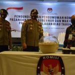 Polres Tanjungpinang Gelar Pengamanan Cabut Undi Paslon Gubernur dan Wakil Gubernur 2020