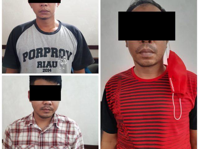 Dua Orang Oknum Satpol PP Kota Batam dan Satu Pekerja Kontrak Dinsos Ditetapkan Sebagai Tersangka Tindak Pidana Pemerasan