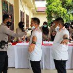 Polres Lingga Lakukan Pengamanan Debat Pasangan Calon Bupati Lingga dan Wakil Bupati Linggga