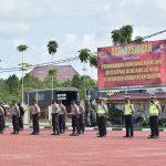 Polres Bintan Gelar Kesiapan Penanganan Bencana Alam Sekaligus Antisipasi La Nina Di Wilayah Hukum Polres Bintan