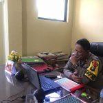 Wakapolres Natuna Ikuti Giat Dialog Interaktif Kancah Opini Pagi Hari melalui Zoom Meeting