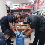 Ditresnarkoba Polda Kepri Musnahkan Barang Bukti 1,9 Kg Narkotika Jenis Sabu