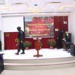 Jelang Natal 2020, Polres Lingga Lakukan Sterilisasi Gereja di Wilayah Kab.Lingga