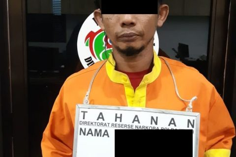 Ditresnarkoba Polda Kepri Berhasil Amankan Seorang Pelaku Pemilik Narkotika Jenis Sabu Seberat 188 Gram