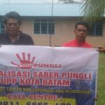 Bhabinkamtibmas Kel. Bulang Lintang Sosialisasikan Saber Pungli