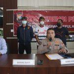 Tim Gabungan Polda Kepri Berhasil Ungkap Kasus Tindak Pidana Pembunuhan