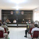 Dalam Rangka Tahun Baru 2021, Polres Lingga Lakukan Rapat Koordinasi Bersama Instansi Terkait