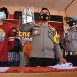 Polsek Tanjungpinang Timur Gelar Press Release Tindak Pidana Karhutla