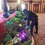 Brimob Polda Kepri Pengamanan Kegiatan Acara Tepung Tawar Gubernur dan Wakil Gubernur Kepri di Gedung Daerah Provinsi Kepri