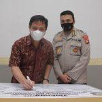 Penandatanganan Dukungan Pembangunan ZI Bidhumas Polda Kepri Menuju WBK