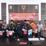 Polres Lingga Lakukan Konferensi Pers Ungkap Kasus Narkoba di Lingga