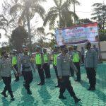Polres Natuna Gelar Apel Kesiapan Bhabinkamtibmas Sebagai Tenaga Vaksinator Dan Tracer Covid-19 Di Kabupaten Natuna.