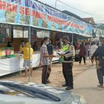 POLRESTA BARELANG GENCAR BERI HIMBAUAN PROKES DI PASAR TUMPAH