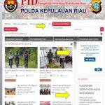 Bidhumas Polda Kepri Sosialisasikan Fitur Penilaian Indek Kepuasan Masyarakat pada Website