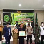 Kaporles Natuna Hadiri Pencanangan Pembangunan Zona Integritas Menuju Wilayah Bebas dari Korupsi (WBK) dan Wilayah Birokrasi Bersih Melayani (WBBM) di Pengadilan Agama Natuna