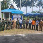 Kapolres Natuna Hadiri Peresmian Kampung Bahari Serta Gotong Royong Oleh TNI-Polri Di Kabupaten Natuna
