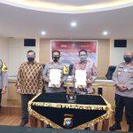 Polda Kepri Teken Perjanjian Kerjasama dengan Kanwil BRI Pekanbaru