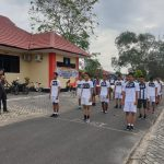 Polres Lingga Gelar Binlat Pada Calon Peserta Penerimaan Anggota Polri 2021