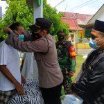 Cegah Penyebaran Covid-19, Polsek Tanjungpinang Kota Rutin Gelar Operasi Prokes