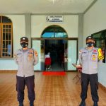 Pantau Penerapan Protokol Kesehatan, Polsek Bunguran Timur Laksanakan Pengamanan Di Gereja