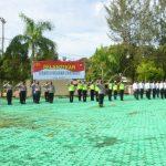 Polres Natuna laksanakan Upacara Pelantikan dan Penyerahan Tugas dan Tanggungjawab Wakapolres Natuna yang Baru