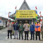 Pengecekan Pos Operasi Ketupat Seligi 2021 dan Pembagian Takjil Berkah Ramadhan Oleh Kapolres Natuna