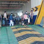 Polres Natuna Laksanakan Pengecekan K.M Bahtera Nusantara di Pelabuhan Penagi