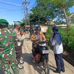 Dalam Operasi Ketupat Seligi 2021, Pos Pam Km.16 Polres Bintan melakukan Pengecekan kepada Masyarakat yang Masuk ke Kabupaten Bintan