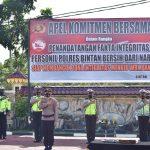 Polres Bintan Gelar Apel Komitmen Bersama Anti Narkoba