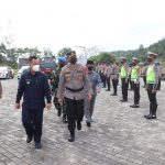 Polres Lingga Gelar Apel Pelaksanaan Operasi Ketupat Seligi-2021
