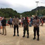 Polsek Serasan Laksanakan Pengecekan K.M Bahtera Nusantara 01 di Pelabuhan Tanjung Setelung