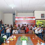 Silaturahmi Awak Media Natuna Dengan Kapolres Natuna