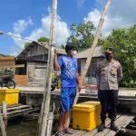 Kapolres Natuna Himbau Agar Masyarakat Selalu Waspada Terhadap Kondisi Cuaca Ekstrem